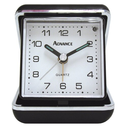 Advance Quartz Analog Travel Alarm Clock