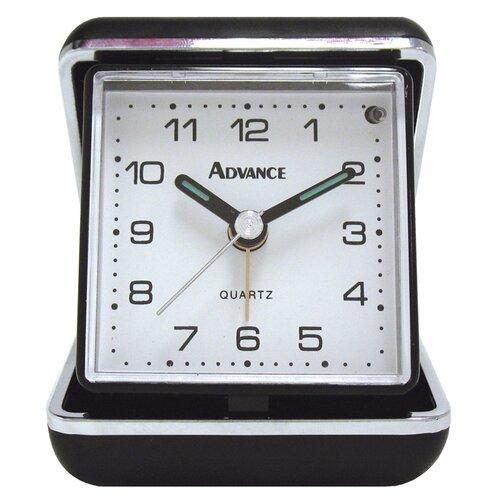 Geneva Clock Advance Quartz Analog Travel Alarm Clock