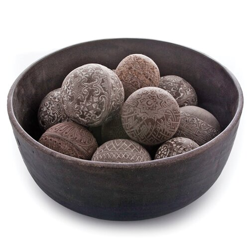 New Rustics Home Mason Stone Powder Decorative Ball