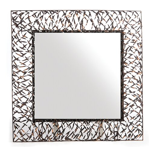 New Rustics Home Woven Accents Mirror