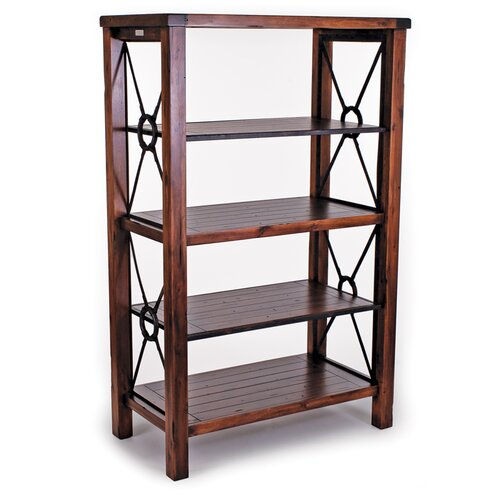 New Rustics Home Modern Lodge Vertical Shelf