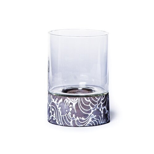 New Rustics Home Round Hurricane-Etched