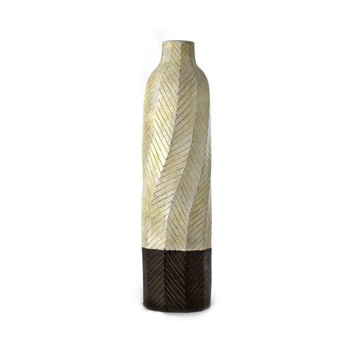 Sedona Pottery Banded Textured Vase