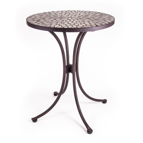 Mosaic Round Speckled Hen Table