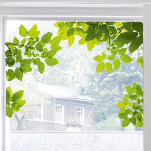 Platin Art Through the Tree Window Sticker