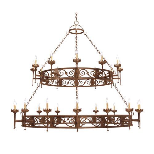 2nd Ave Design Majella 28 Light Chandelier