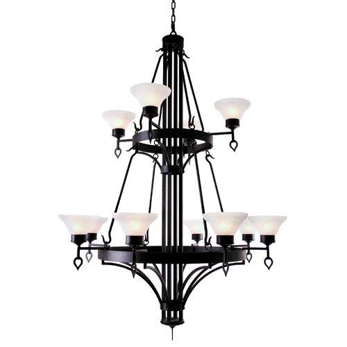 2nd Ave Design Savino 12 Light Chandelier
