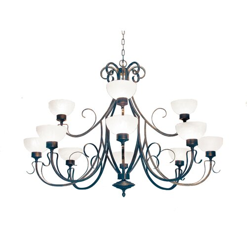 2nd Ave Design Mirasol 12 Light Chandelier