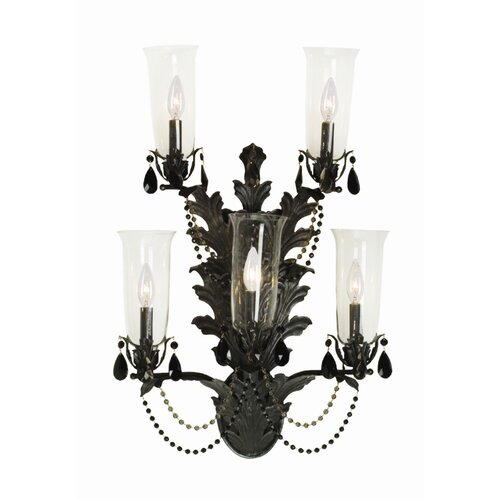 2nd Ave Design French Baroque 5 Light Wall Sconce