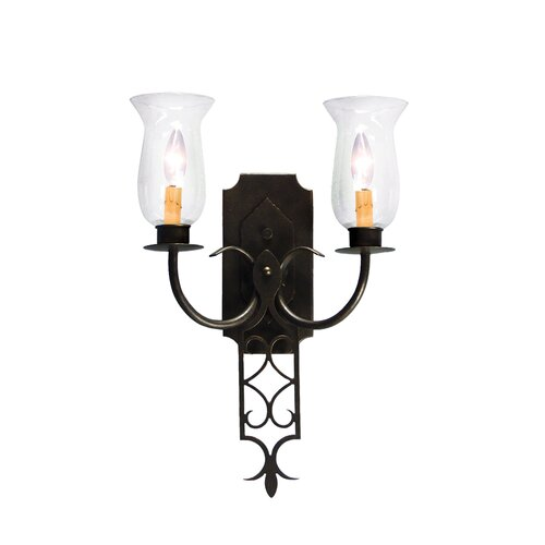 2nd Ave Design Gabrielle 2 Light Wall Sconce