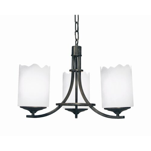 2nd Ave Design Octavia 3 Light Chandelier
