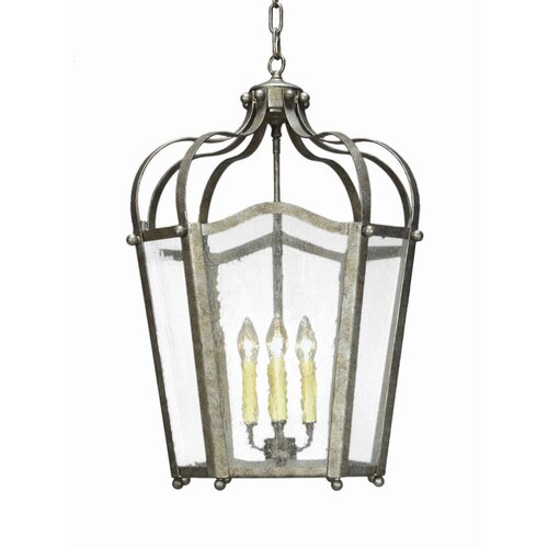2nd Ave Design Citadel 4 Light Foyer Lantern