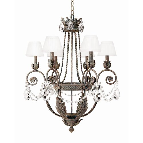 2nd Ave Design Antonia 6 Light Chandelier