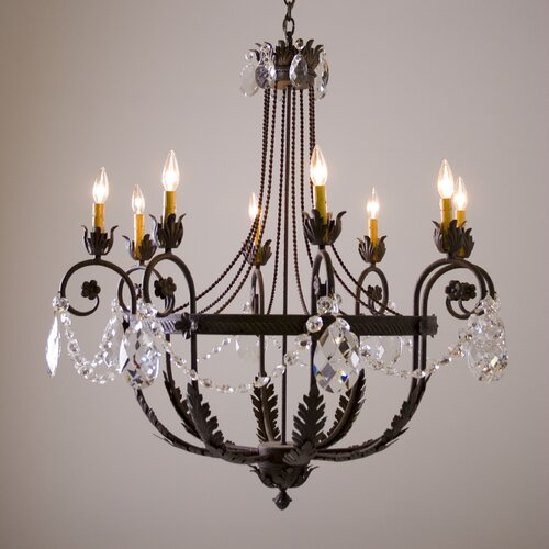 2nd Ave Design Antonia 8 Light Chandelier
