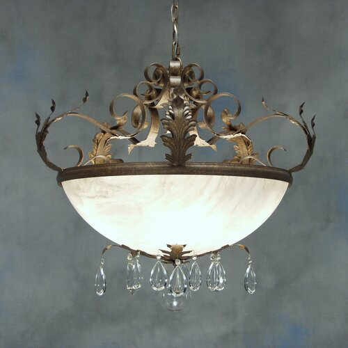 Renaissance 5 Light Inverted Pendant