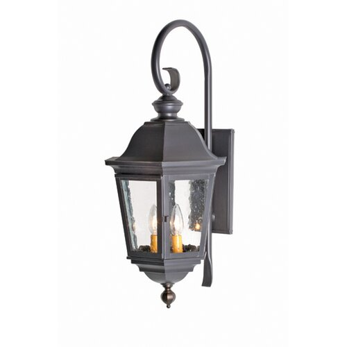 2nd Ave Design Tiamo Flush 2 Light Exterior Wall Lantern