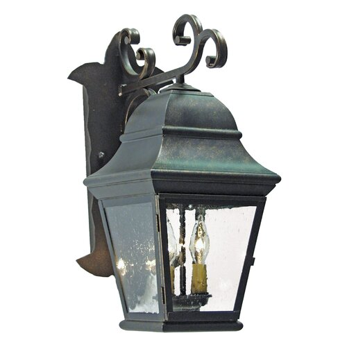 2nd Ave Design Hagen 2 Light Exterior Wall Lantern