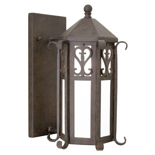 2nd Ave Design Caprice 1 Light Exterior Wall Lantern