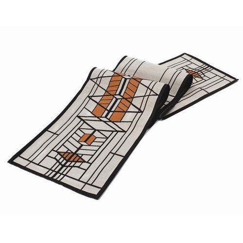 Rennie & Rose Design Group Frank Lloyd Wright Robie House Table Runner