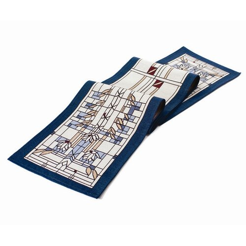 Rennie & Rose Design Group Frank Lloyd Wright Waterlilies Table Runner