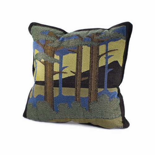 Rennie & Rose Design Group Motawi Landscape Pillow