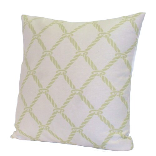 Rennie & Rose Design Group Nautical Rope Polyester Stuffed Pillow