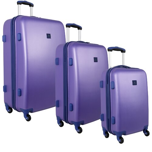 Fast Lane 3 Piece Luggage Set