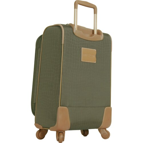 "Anne Klein Jungle 20"" Expandable Spinner Suitcase"