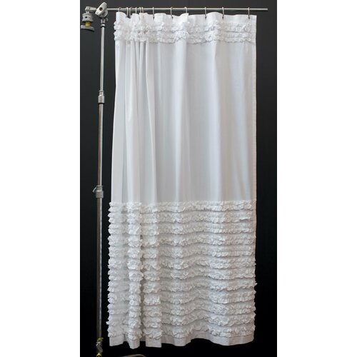 Prom Night Cotton Shower Curtain