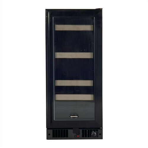 Marvel Appliances Luxury 5 Bottle Dual Zone Thermoelectric Built-in Wine Refrigerator