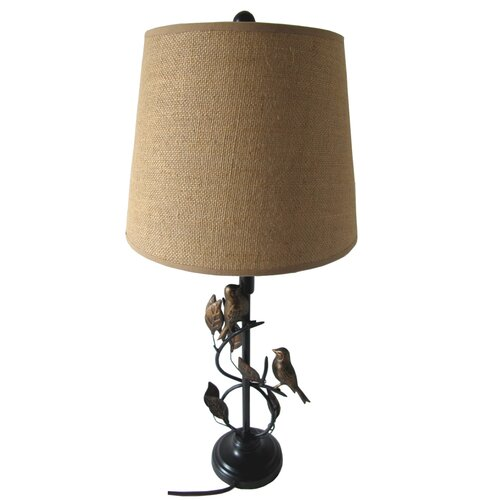 "Santa's Workshop 28"" H Table Lamp"
