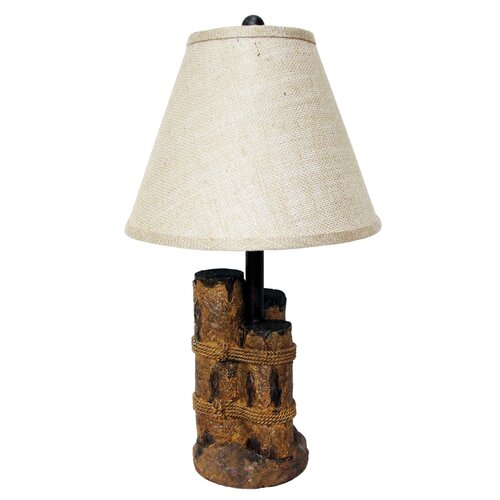 "Santa's Workshop 22"" H Table Lamp"