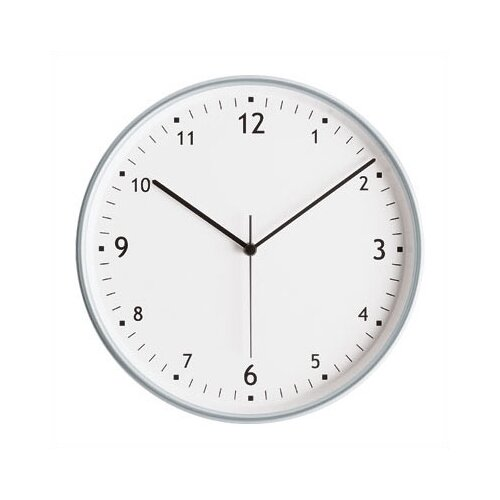 "Peter Pepper 11.75"" Wall Clock with Finish Bezel"