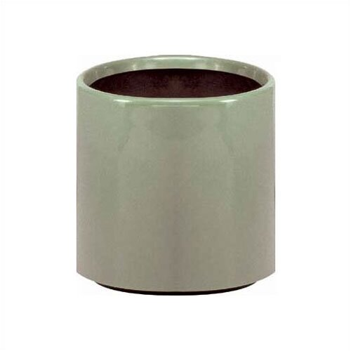 "Peter Pepper 18"" Fiberglass Cylindrical Planter"