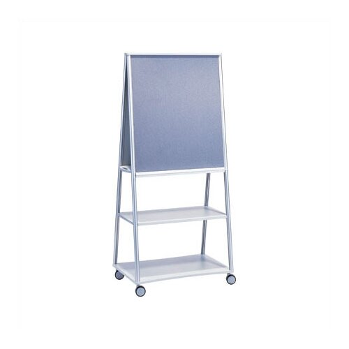 Peter Pepper Wheelies® Mobile Easel with Fabric and Whiteboard Side
