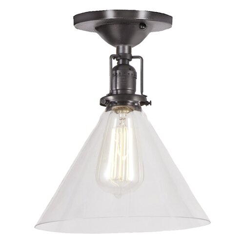 Union Square 1 Light Semi Flush Mount