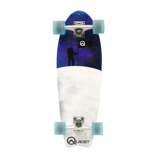 Quest Fishtail Cruiser Board Skateboard