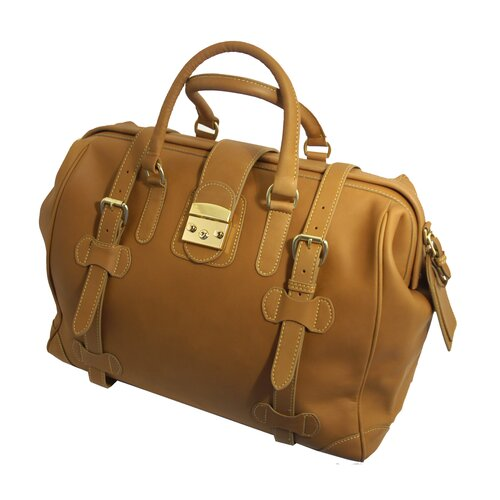 Mulholland Brothers Weekend Bags Leather Safari Travel Duffel