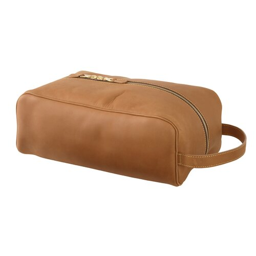 Mulholland Brothers Leather Shoe Bag