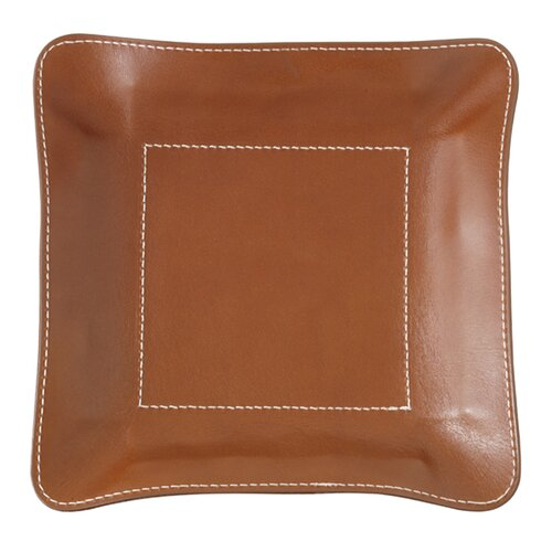 Mulholland Brothers Leather Change Base Accessory Tray