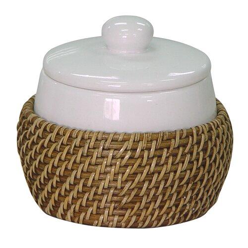 rattan bathroom accessories wayfair