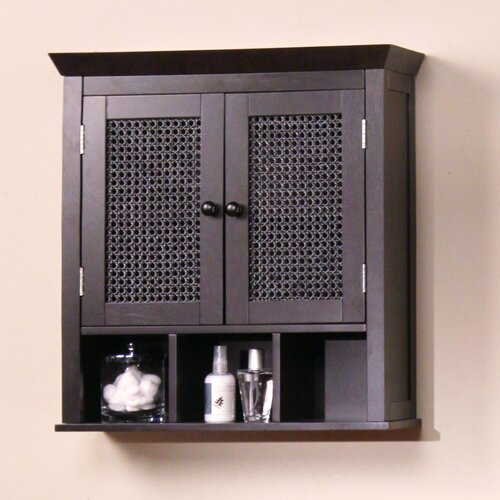 Elegant Home Fashions Savannah Two Door Wall Cabinet