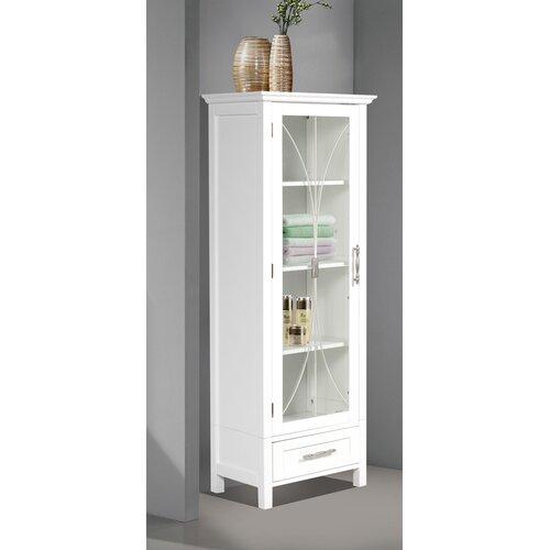 "Elegant Home Fashions Delaney 17"" x 48"" Linen Cabinet"