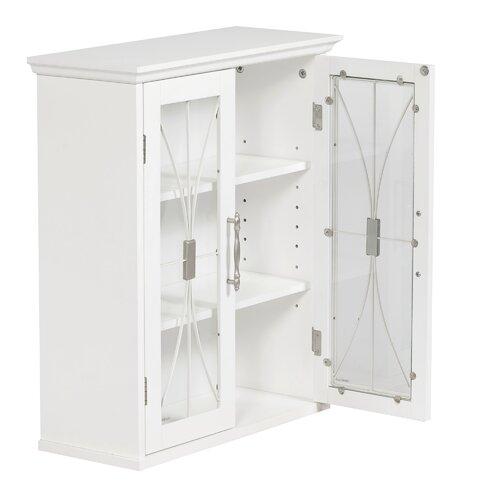 "Elegant Home Fashions Mason 20.5"" x 24.5"" Surface Mount Medicine Cabinet"