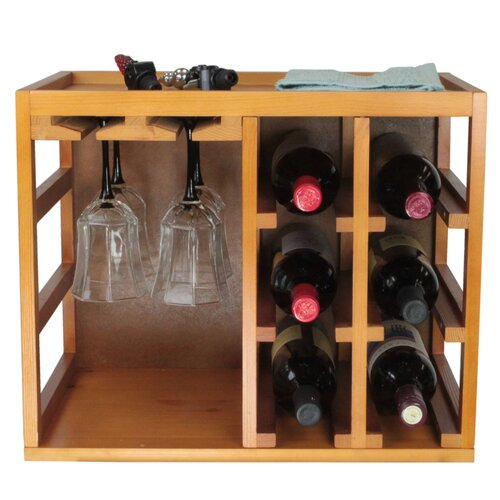 Wine Bottle/Glasses Cage