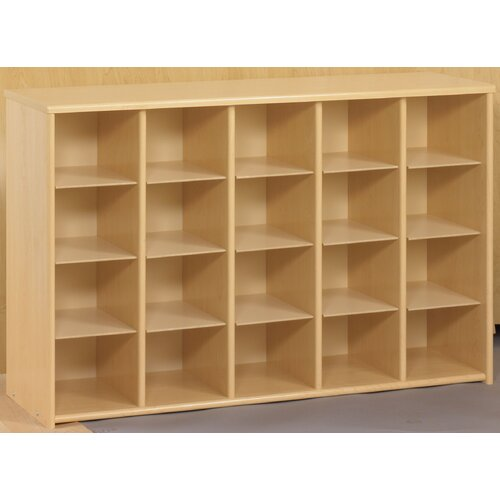 TotMate Eco Preschool Sectional  20 Compartment Cubby