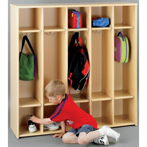 TotMate Eco 5-Section Preschool Locker