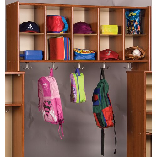 TotMate Eco Laminate 10 Cubby Wall Storage