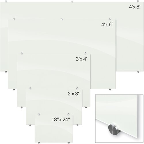 Balt Visionary Magnetic Glass Board
