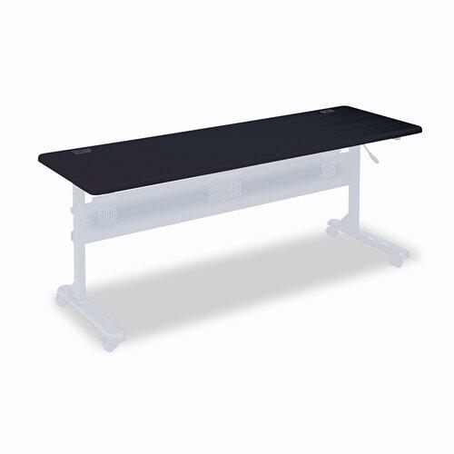 Balt Flipper Training Table, 72w x 24d, Mahogany